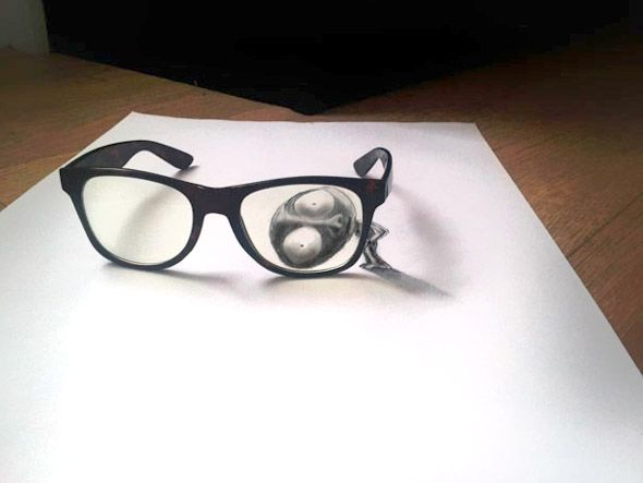 78+ images about 3D illusions drawing & illustrations on Pinterest ...