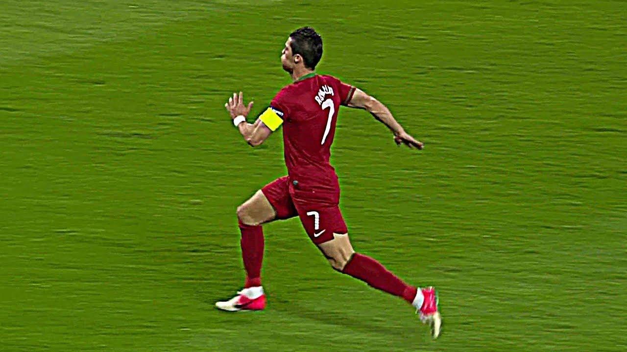 Kecepatan Lari Cristiano Ronaldo Dalam Dunia Sepak Bola HD