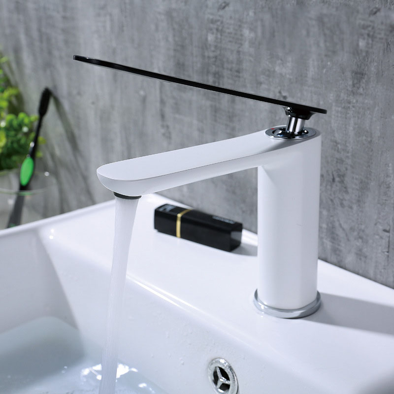 Contemporary Solid Brass Basin Faucet Simple Elegant Sink Tap Sink Sink Taps Faucet
