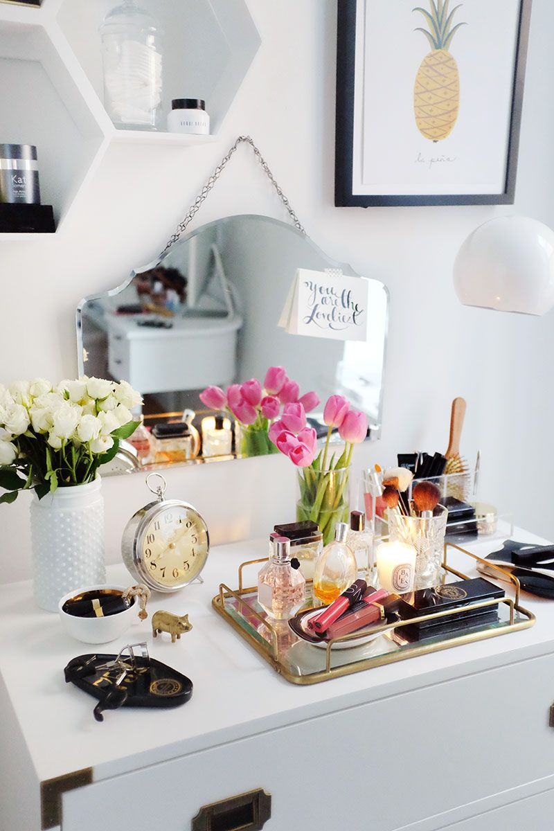 2 ways to make the most of styling your dresser dresser for Bathroom tray decor