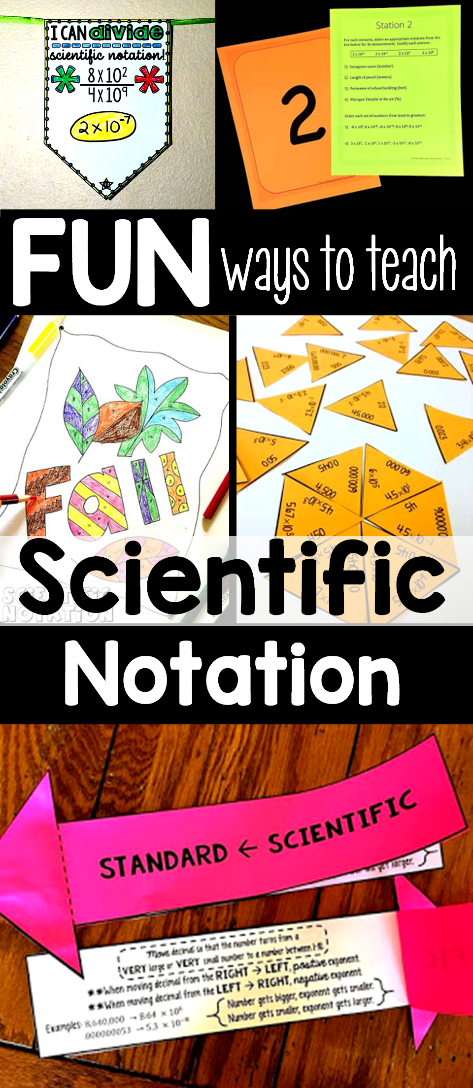 Making scientific notation fun in the secondary classroom making scientific notation fun in the secondary classroom falaconquin