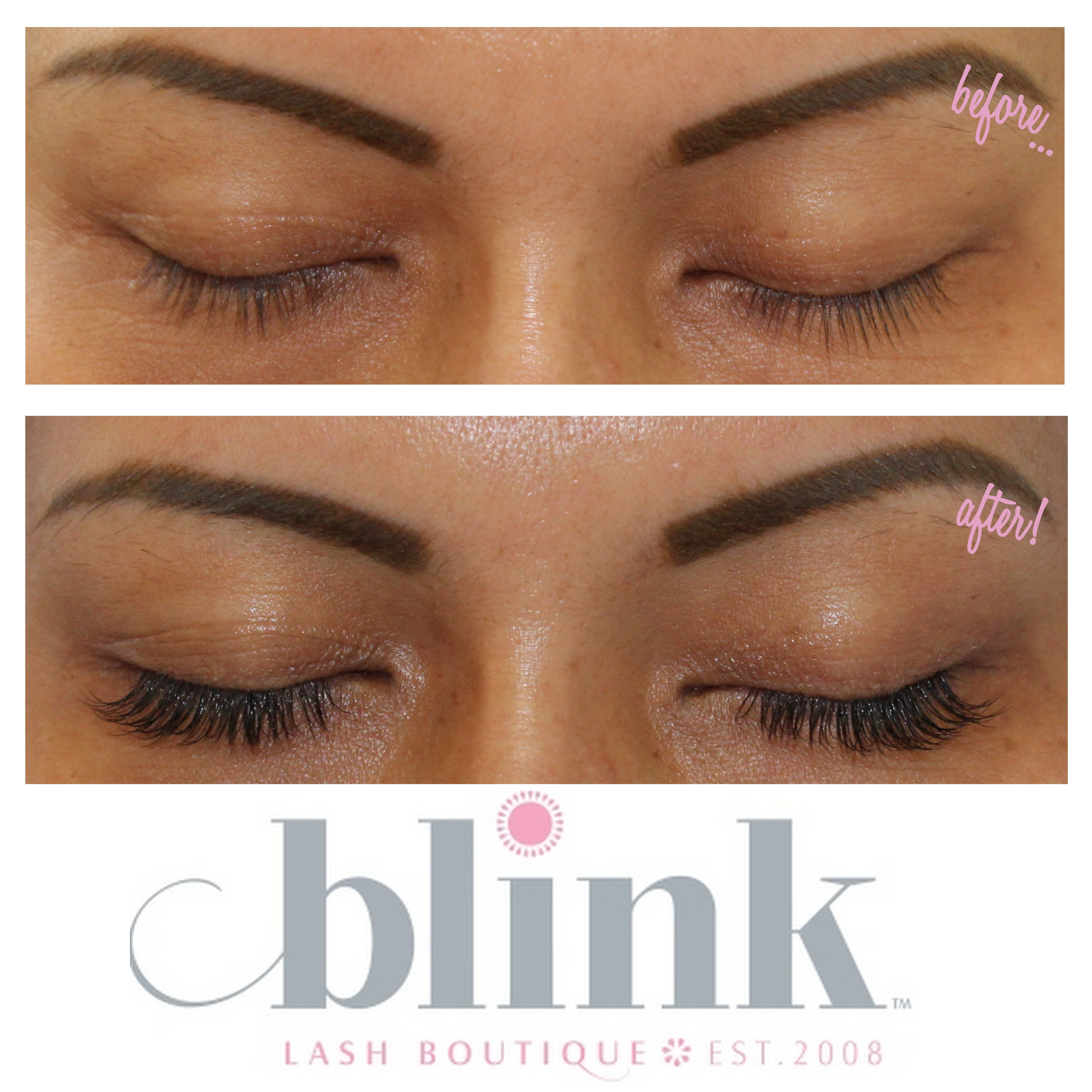 Pin By Blink Lash Boutique Eyelash Extensions On Blinks Before