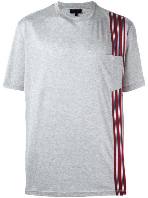 LANVIN 스트라이프 디테일 티셔츠. #lanvin #cloth #티셔츠