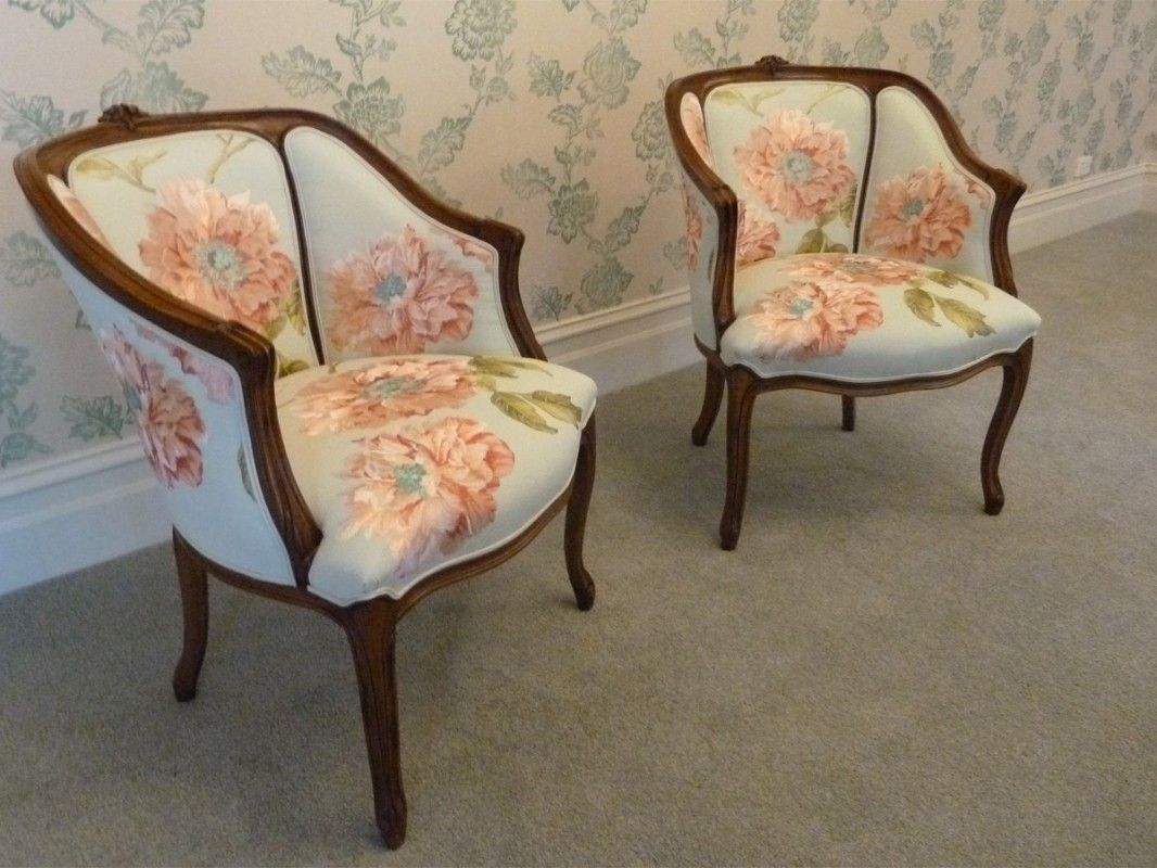 French Style Furniture French Louis XV Style Tub Chairs