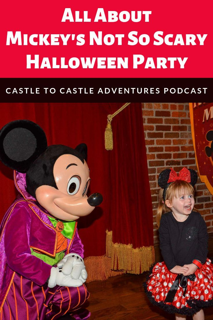 Mickey's Not So Scary Halloween Party is one of our