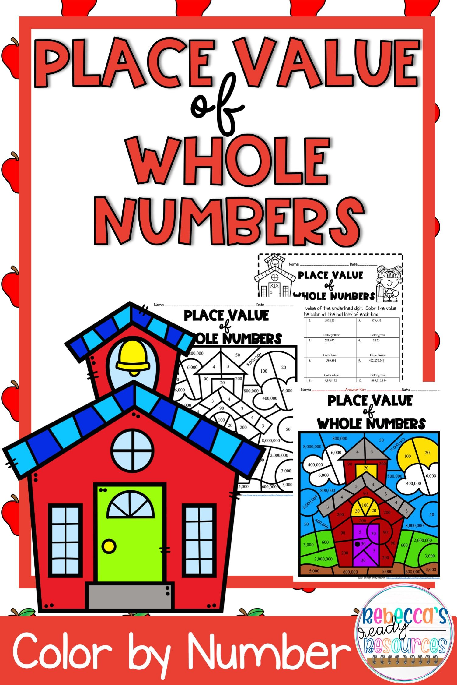 Value Of The Underlined Digit Color By Number Back To