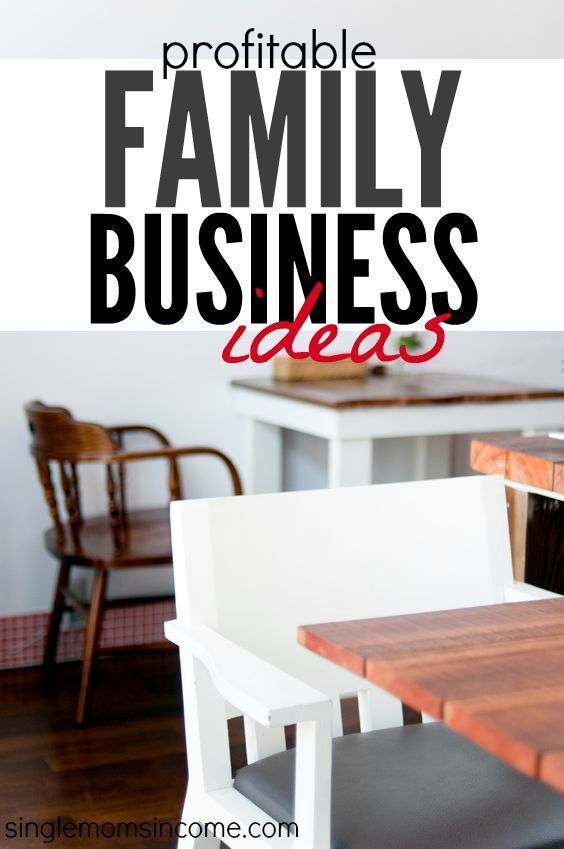 Profitable Family Business Ideas You Ll Love Setting Goals Goal