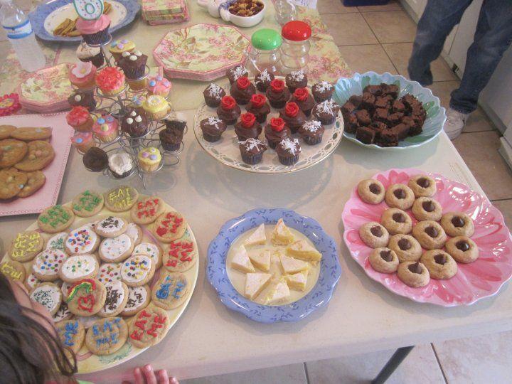 Alice in Wonderland Birthday Party (tea party) (2010)