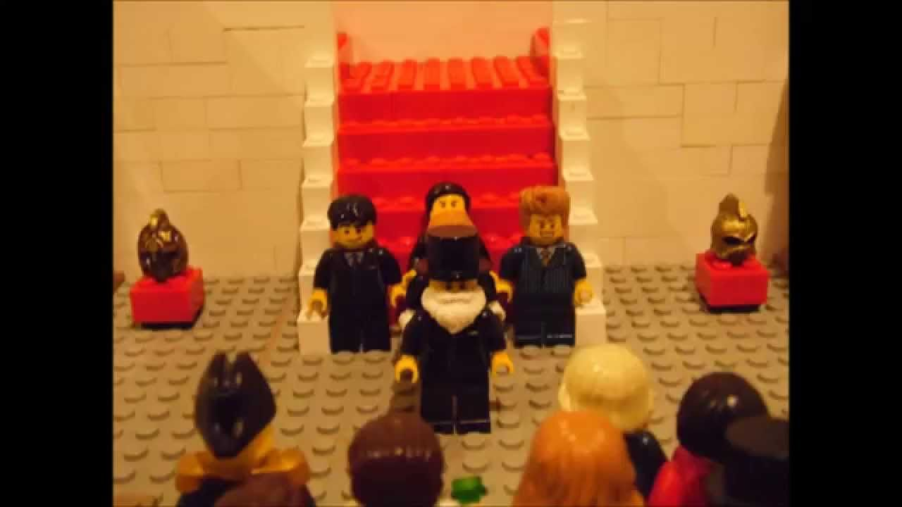 William Shakespeare's 'Much Ado About Nothing' Lego Stop Motion Animation