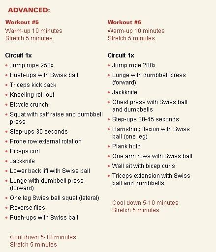 advanced workout  | Fitness & Health | Workout, Health fitness:__cat