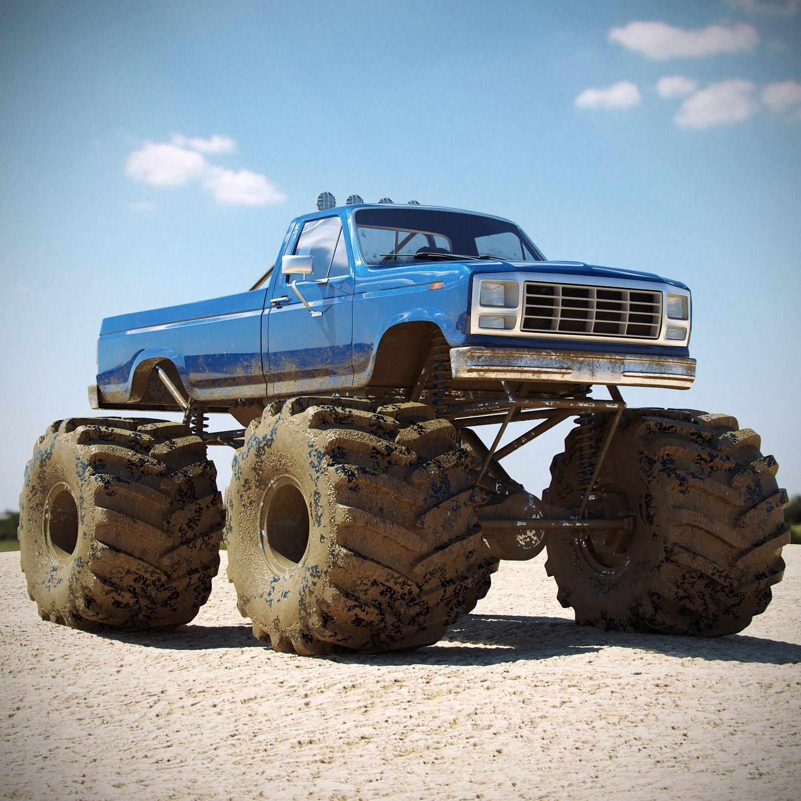 blue monster truck monster trucks pinterest monster trucks