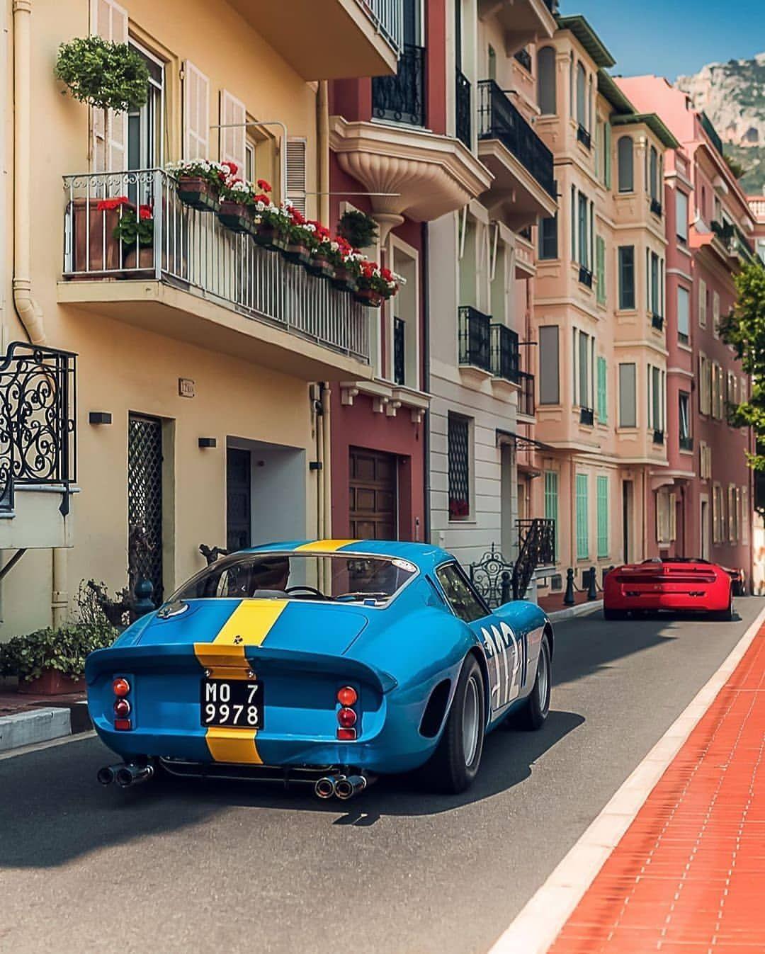 "@classiccarvoyage's Instagram profile post: ""1962 Ferrari 250 GTO  following a 1 of 3 Ferrari Mythos. Credit: @balco.classics  #DriveVintage #Ferrari #250GTO"""