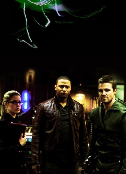 Arrow - City of Blood - Oliver, Felicity & Diggle