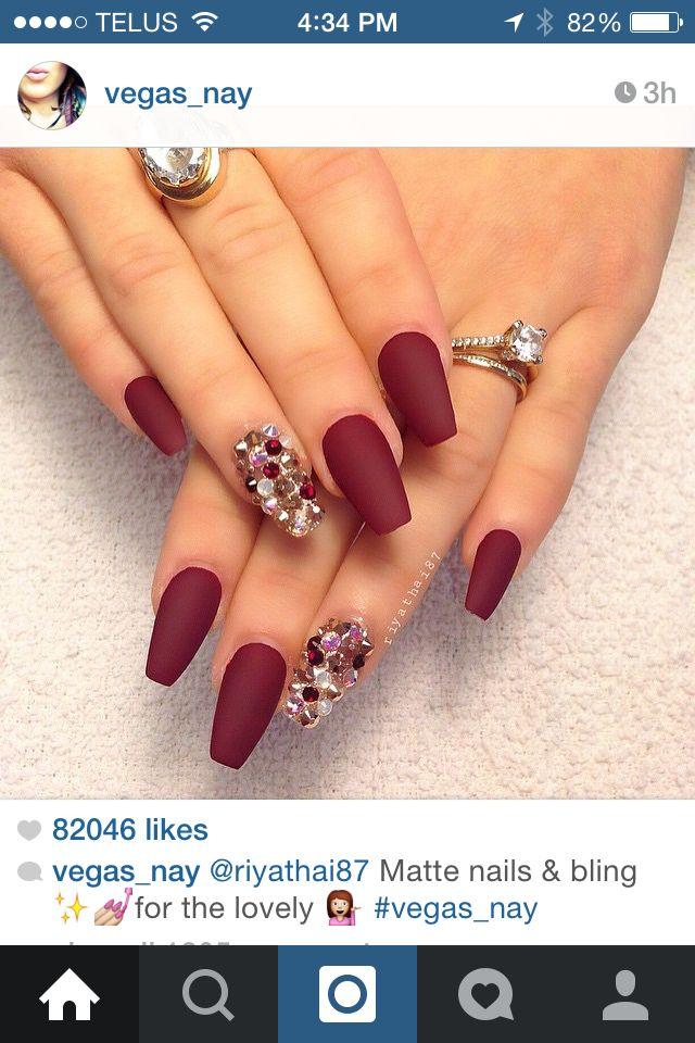 Beautiful | Uñas de acrílico | Pinterest | Manicure, Beauty lounge ...