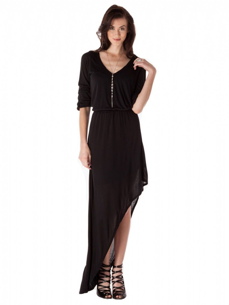 Assymetrical black dress dresses for every occasion pinterest