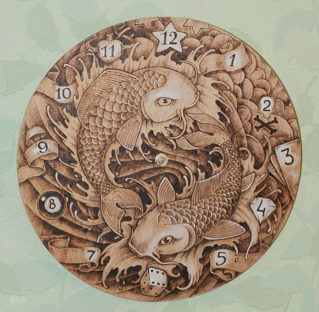 Pyrography is the art of decorating wood