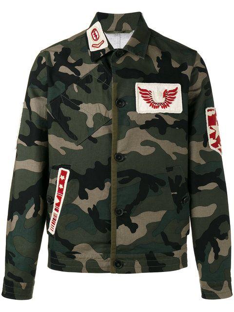 VALENTINO camouflage military jacket.  valentino  cloth  куртка ... 60bf6e7c3b5