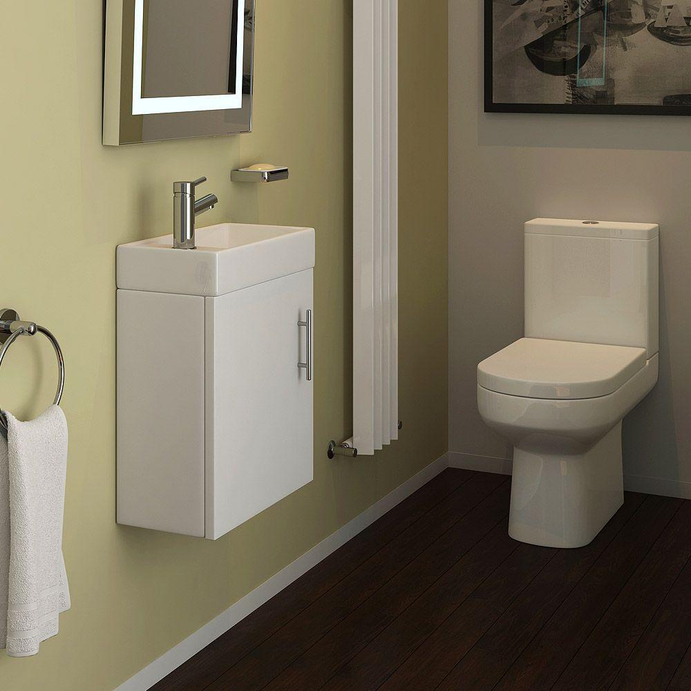 Exceptionnel Minimalist Cloakroom Suite. Cloakroom SuitesCloakroom IdeasBathroom ...