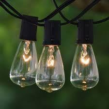 Solar Vintage String Lights
