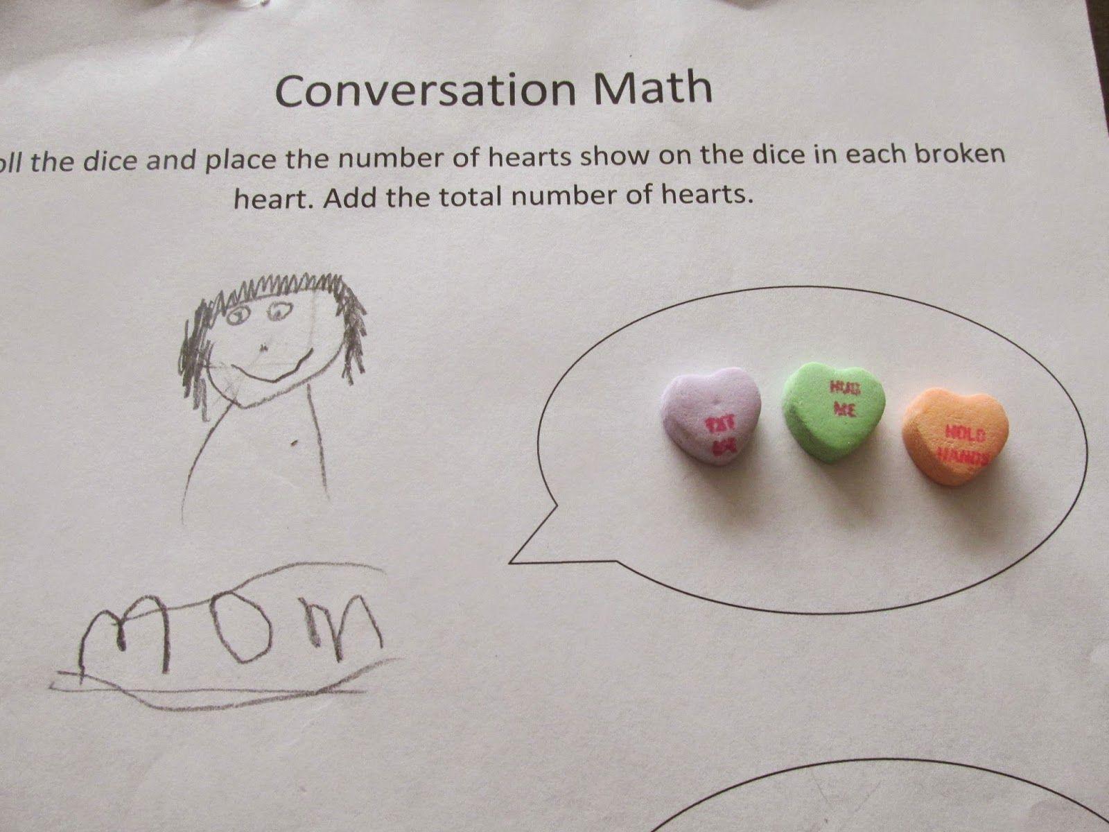 Last Minute Conversation Heart Teaching Ideas