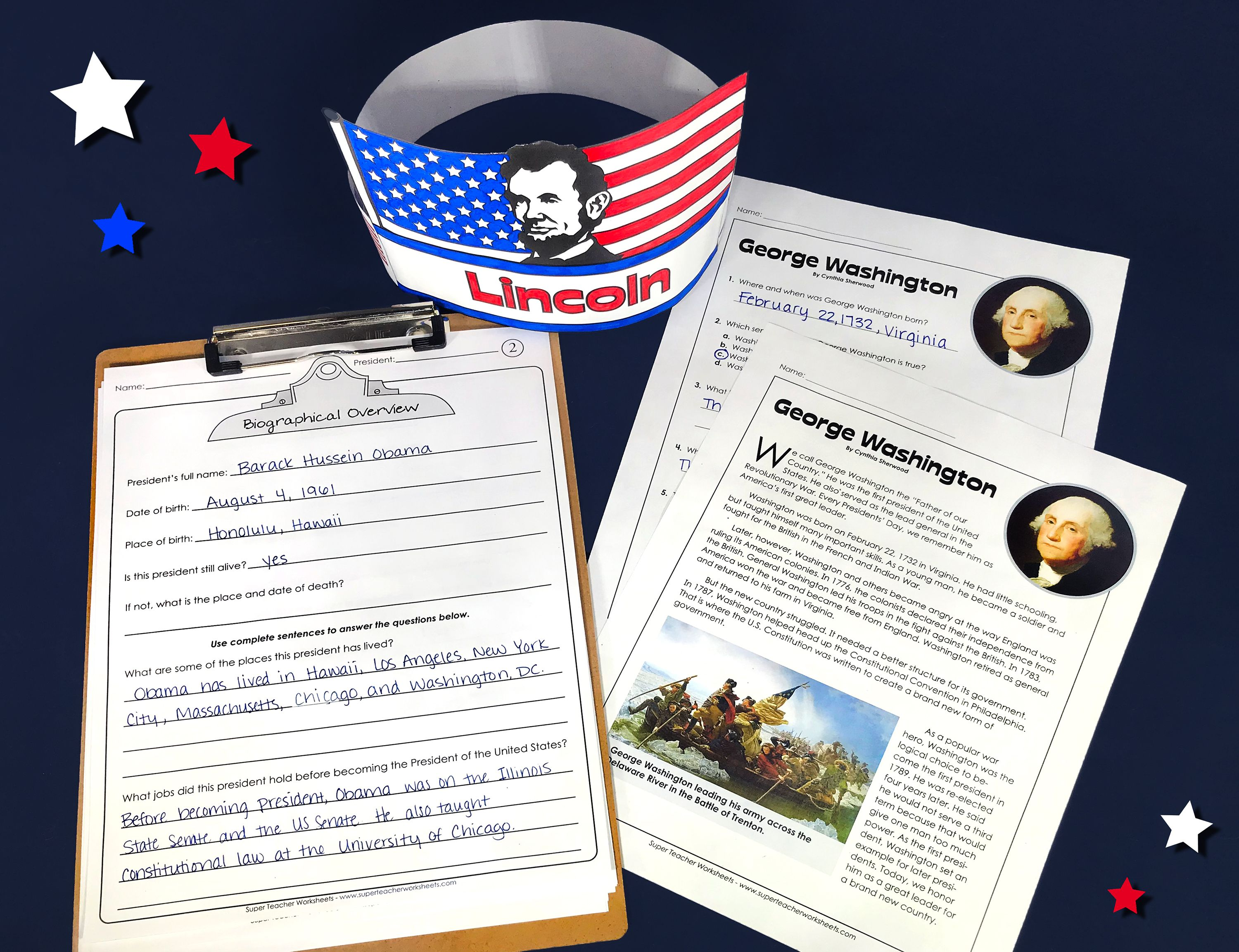 Check Out Our Presidential Printables In