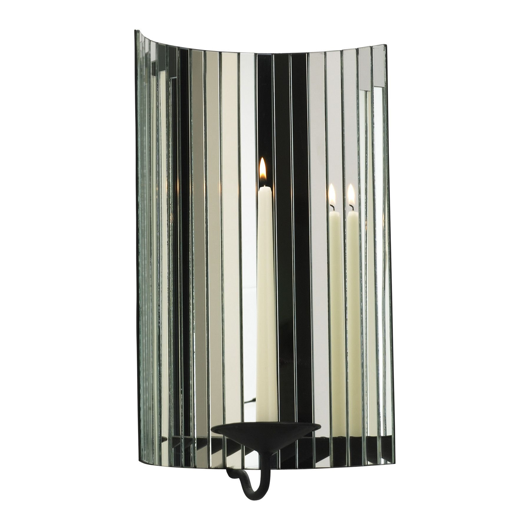 Iron cosmo mirrored wall sconce cosmos wall sconces and iron