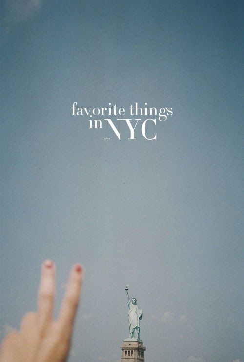 To discover some of College Prep's favorite things in NYC.