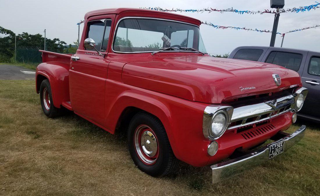 1957 Ford F100 Stepside Big Boys Toys Classic Ford Trucks Ford Trucks Ford