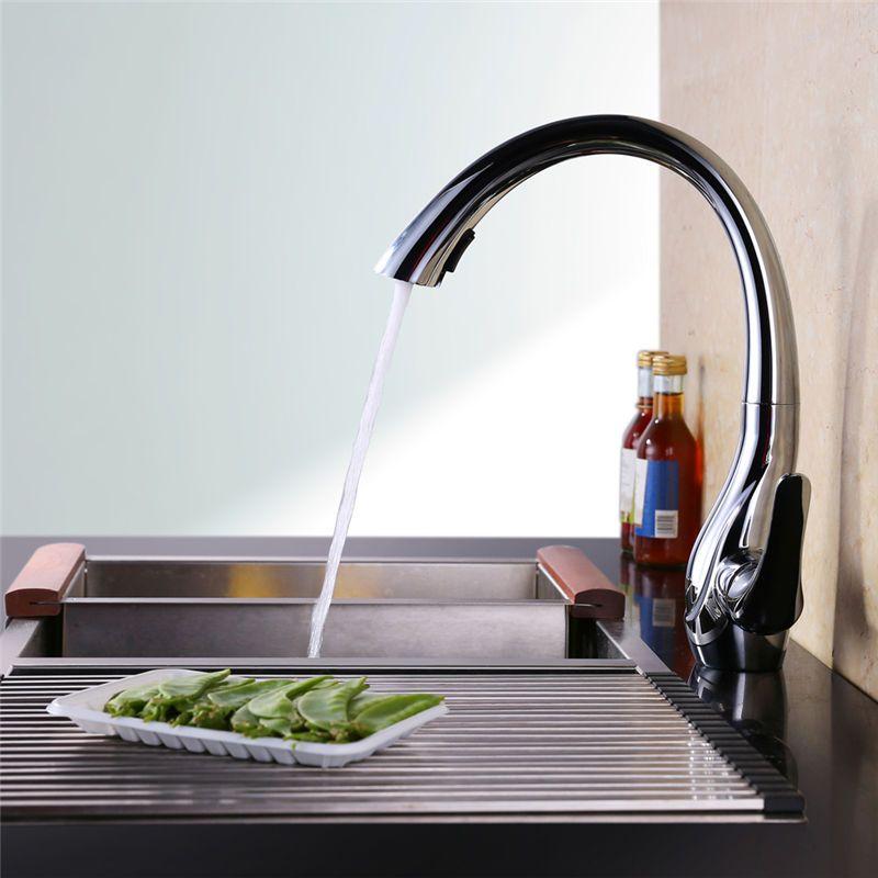 Ausziehbar Küche Wasserhahn Mischbatterie Wasserkran - wasserhahn für die küche