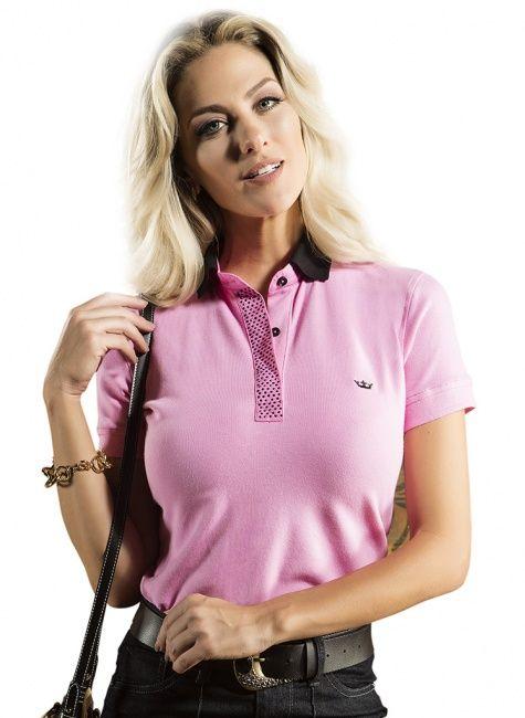 camisa polo rosa principessa maria clara   polo ,t-shirt   Pinterest ... b33bdc3f1d