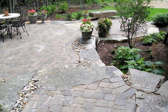 23+ Flagstone patio ideas information