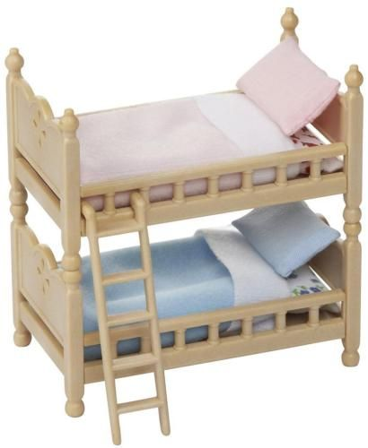 Calico Critters Cc2459 Bunk Beds Set New In Box Bunk Bed Sets Bed Sets For Sale Baby Doll House