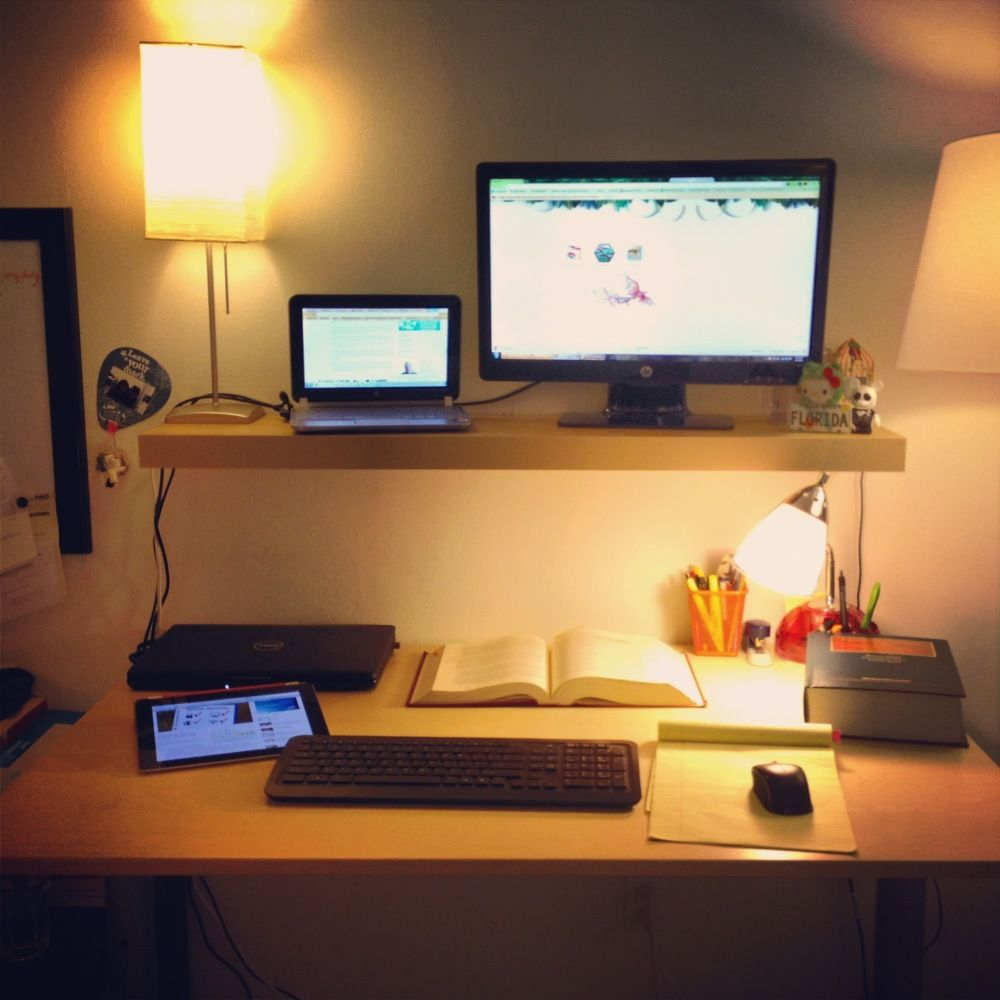 This 22 Standing Desk Is The Ultimate Ikea Hack Ikea Standing Desk Desk Standing Desk