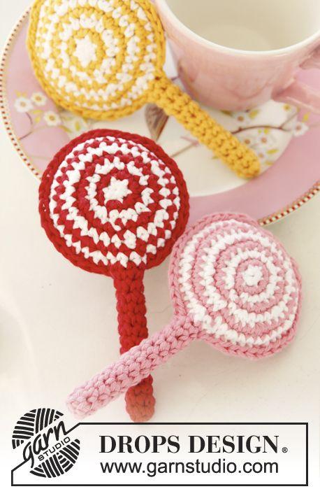 Crochet Drops Lollipop In Paris Drops Design Crocheting