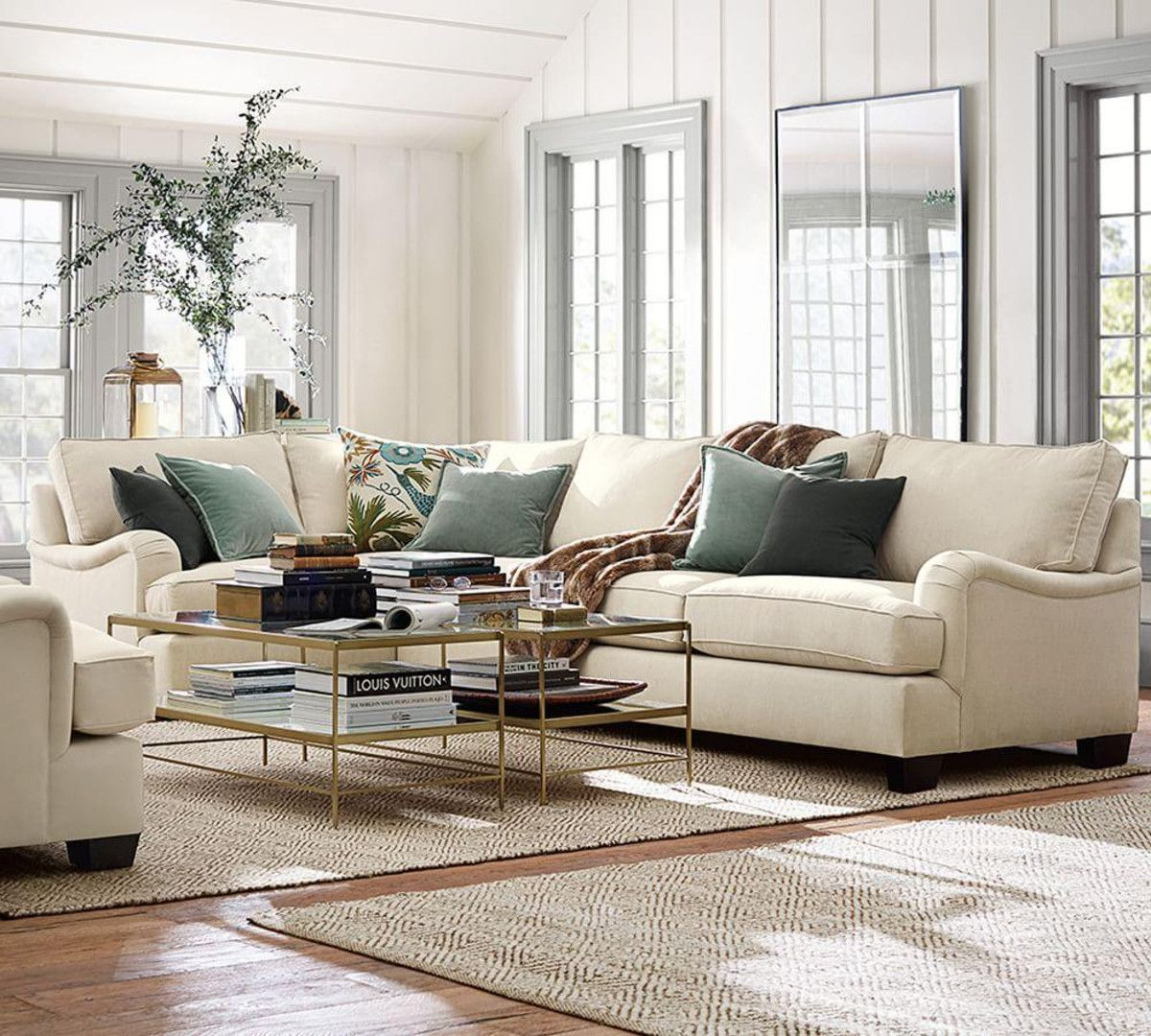 Explore Pottery Barn Couch, Velvet Pillows, And More! Leona Coffee Table