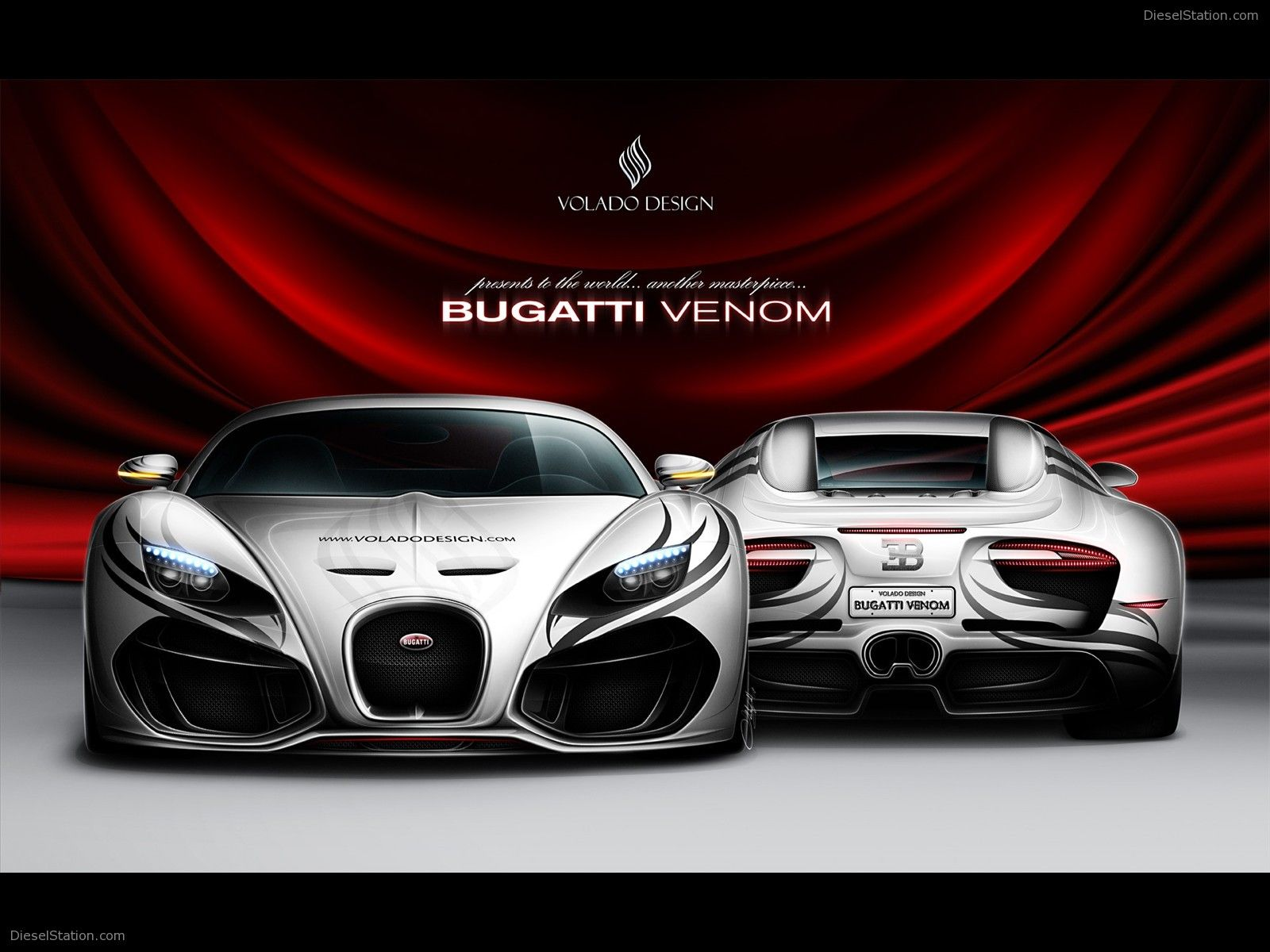 Bugatti Venom Concept By Volado Design With Images Bugatti