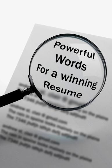 Make Your Resume Stand Out With Action Verbs Action verbs and Action - making your resume stand out