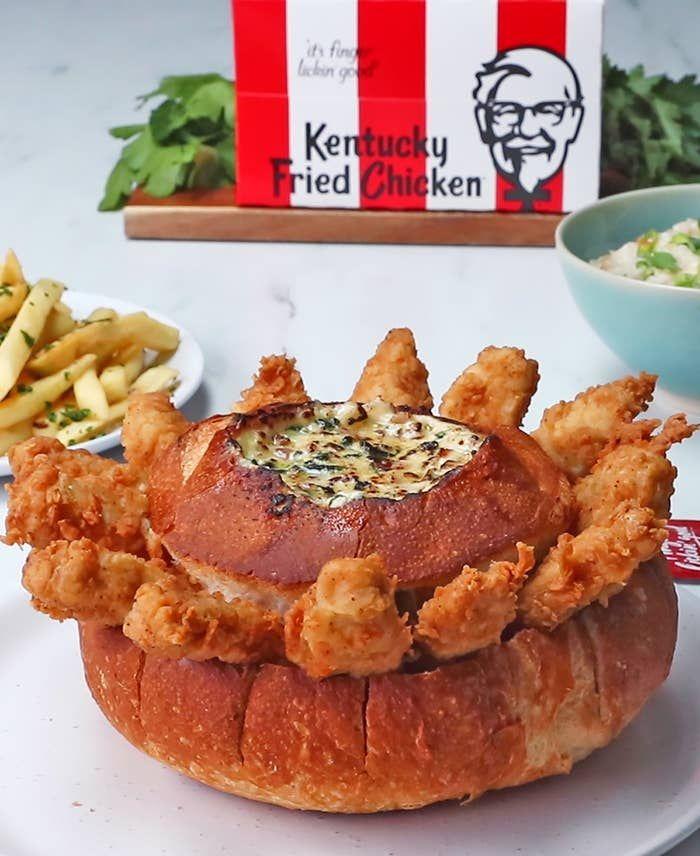 Kentucky Fried Chicken Cob Loaf