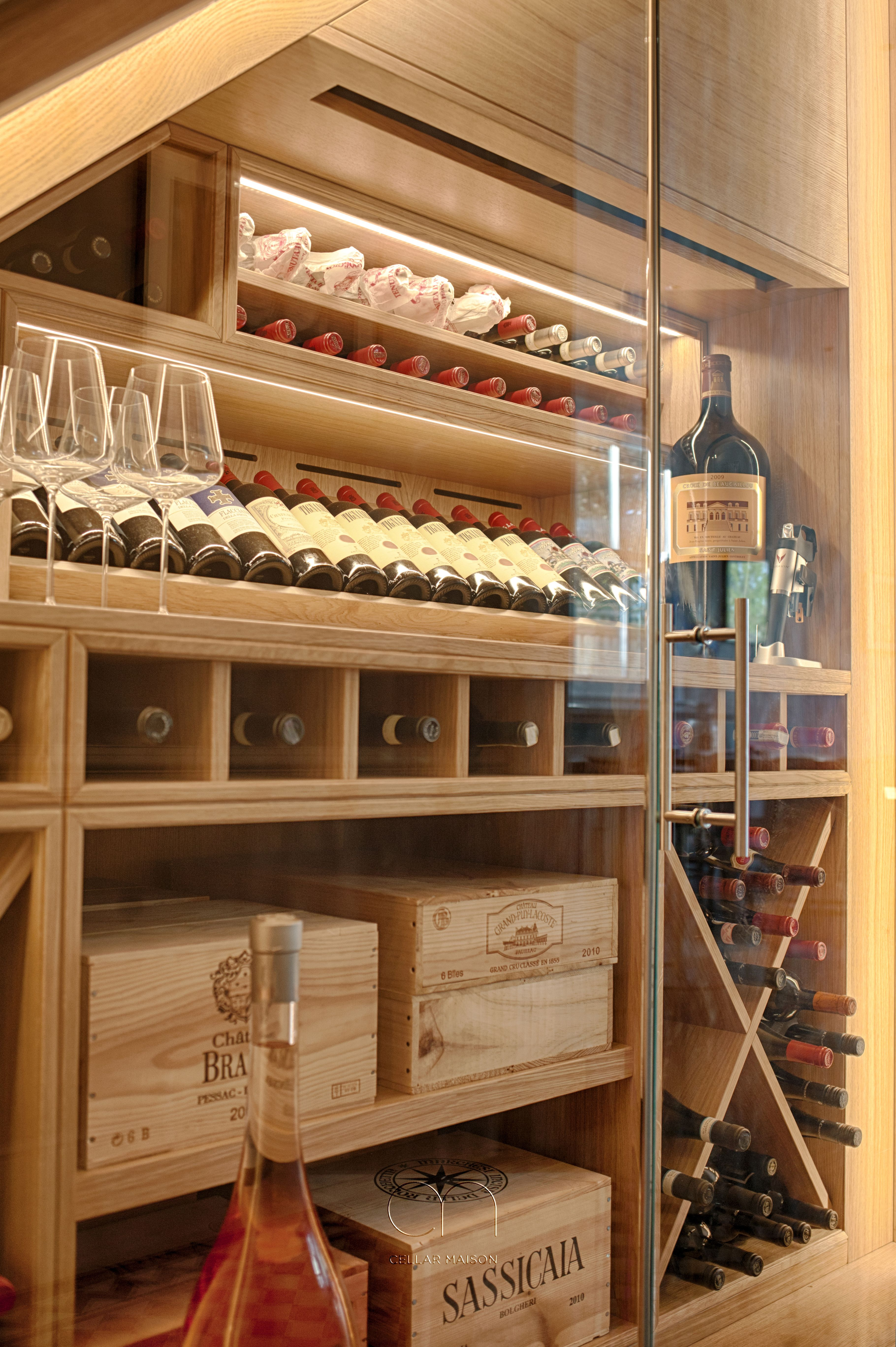 Cellar Maison S Incredibly Popular Climate Controlled Under Stairs