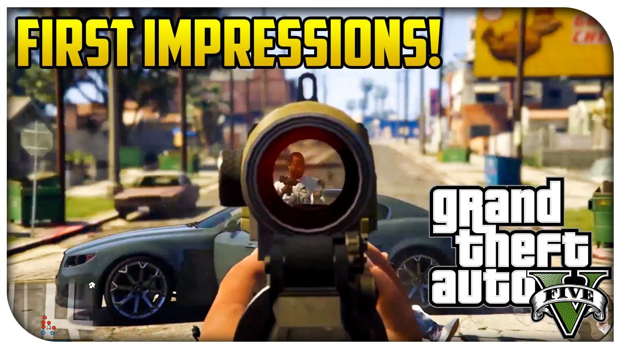 GTA 5 Xbox One & PS4 Next Gen FIRST IMPRESSIONS! (I've