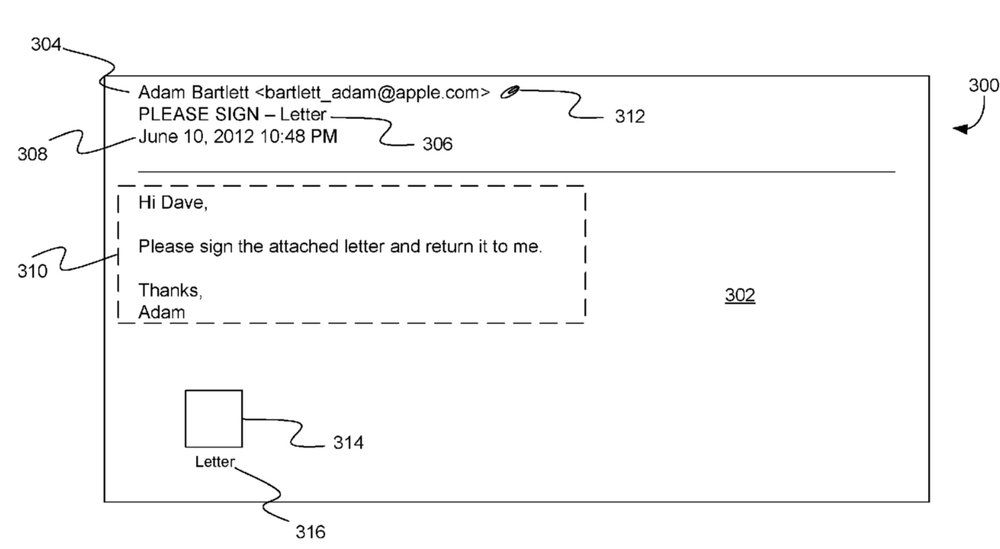 Apple patent involves a 'return to sender' feature for