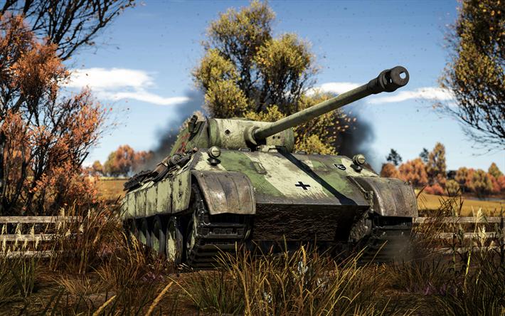 пантера танк war thunder