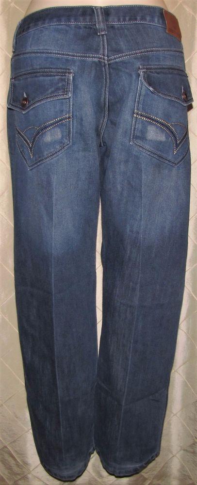 MEN'S DIRECT BLUE JEANS  STRAIGHT LEG 38 X 34 COTTON FLAP POCKETS   #DirectBlue #ClassicStraightLeg