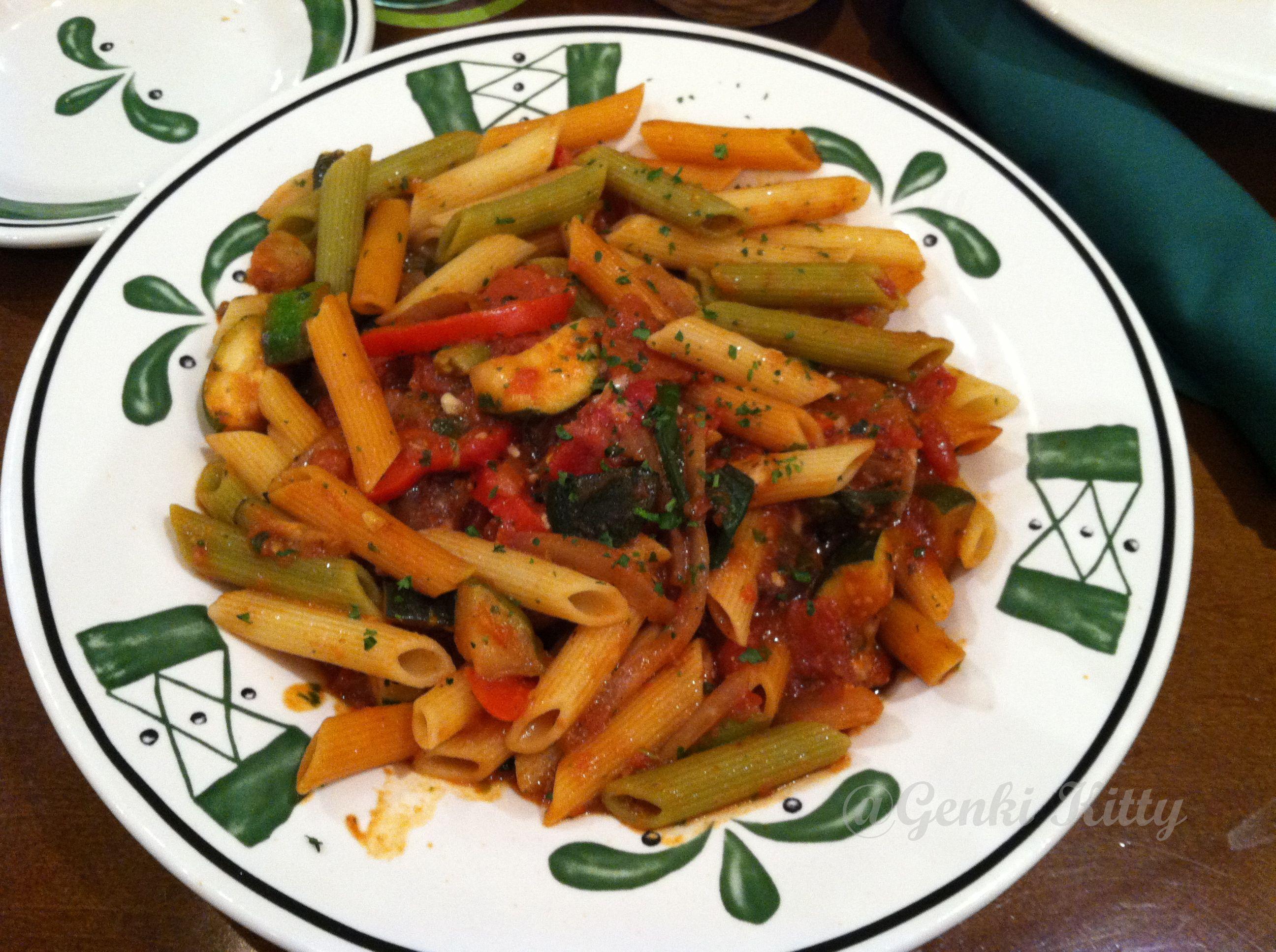 Vegan Options at the Olive Garden Vegan restaurants