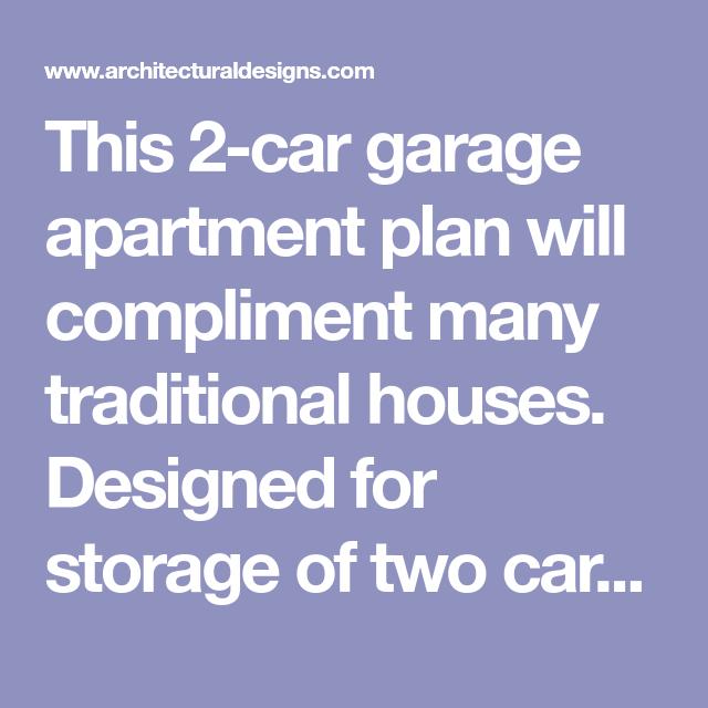 Plan 2245SL: Two Car Garage Apartment