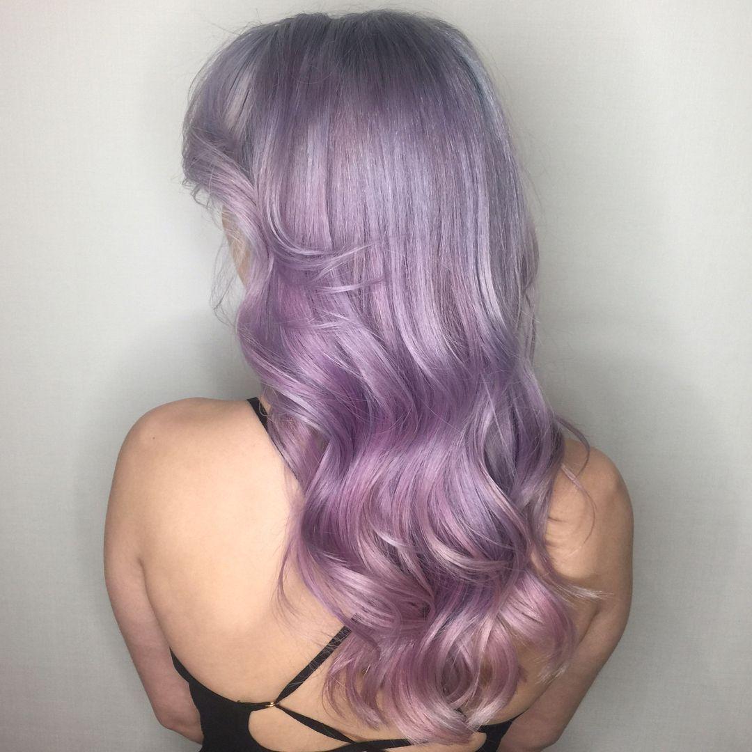 Hello Gorgeous Pale Purple Work By Aveda Artist Sarah Naslund
