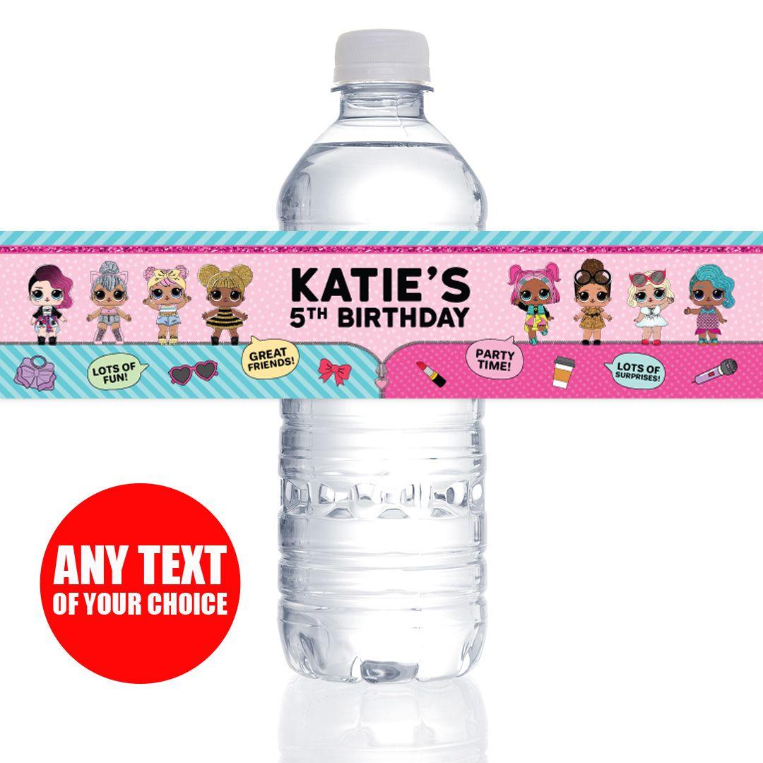 PERSONALIZED Bottle Labels - 10 Pk