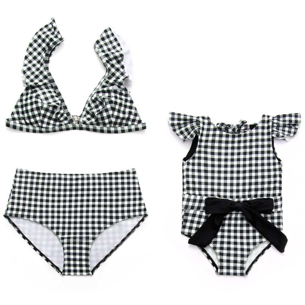 44bce6f625960 Family Matching Mother Daughter Women Kids Girl Bikini Bathing Swimsuit  Swimwear  fashion  clothing  shoes  accessories  babytoddlerclothing ...