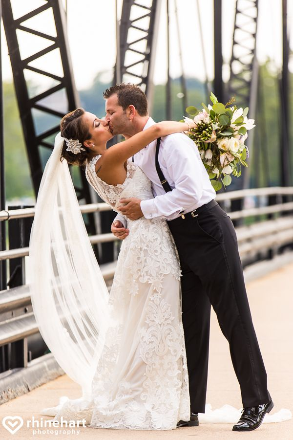 Harrisburg PA Wedding Photographers Walnut Street Bridge City Island Best Creative Unique