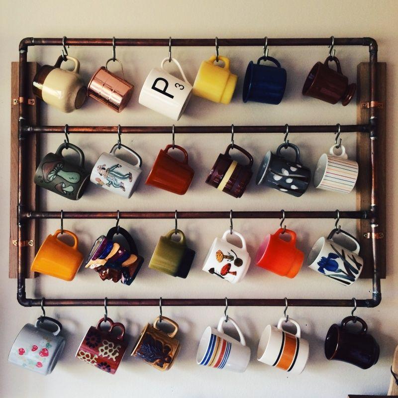 Vscocam Billy Bunn Vsco Grid Mug Storage Coffee Mug Holder Mugs
